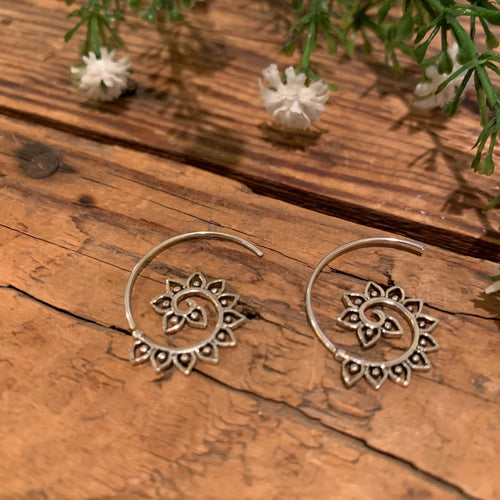 Tribal Threader Sterling Silver Earring - Apothecary Gift Shop