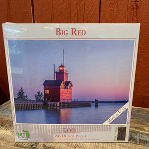 Big Red Lighthouse Puzzle