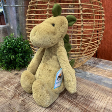 Load image into Gallery viewer, Bashful Dino Jellycat Stuffed Animal - Apothecary Gift Shop