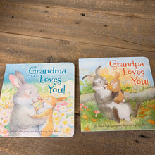 Load image into Gallery viewer, Grandma/Grandpa Loves You Book - Apothecary Gift Shop
