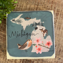 Load image into Gallery viewer, Michigan Coasters - Apothecary Gift Shop