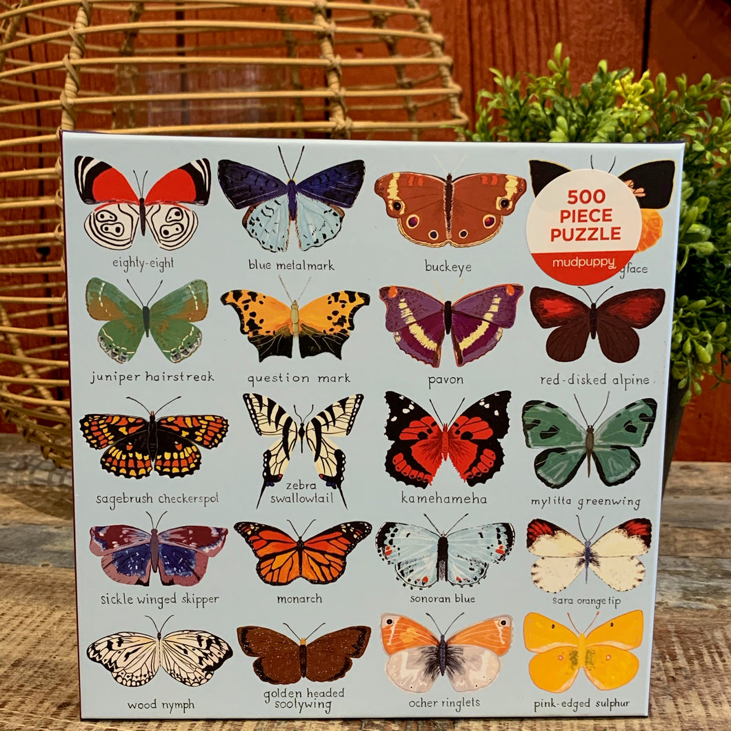 Butterflies of North America Puzzle - Apothecary Gift Shop