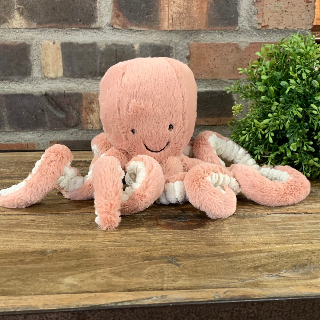 Odell Octopus Jellycat Stuffed Animal