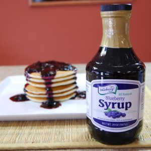 All Natural Blueberry Syrup - Apothecary Gift Shop