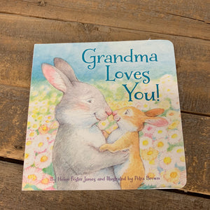 Grandma/Grandpa Loves You Book - Apothecary Gift Shop