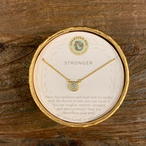 Stronger Spartina Necklace