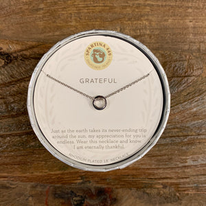 Spartina Sea La Vie Grateful Necklace