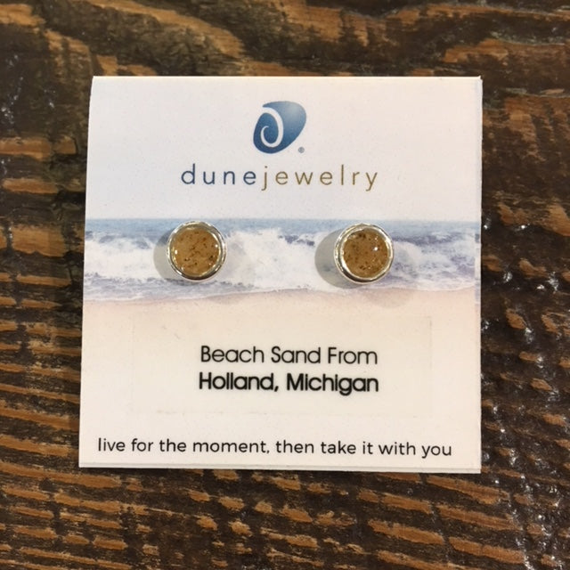 Sand Dune Drop Sterling Silver Earrings by Dune Jewelry - Apothecary Gift Shop