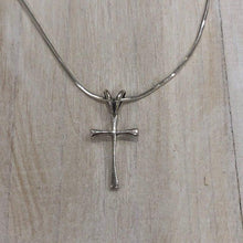Load image into Gallery viewer, Sterling Silver Thin Cross Pendant - Apothecary Gift Shop
