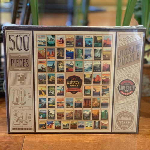 American National Parks Puzzle - Apothecary Gift Shop