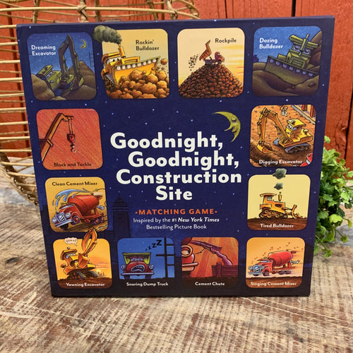 Goodnight, Goodnight Construction Site Matching Game - Apothecary Gift Shop