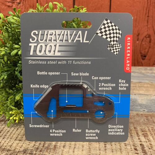 Car Shaped Survival Tool - Apothecary Gift Shop