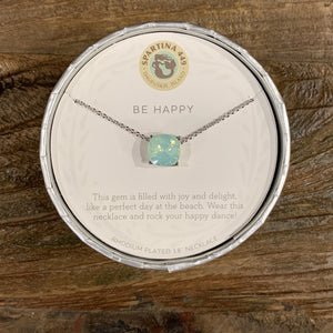 Spartina Sea La Vie Be Happy Necklace