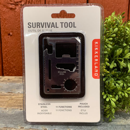 Survival Tool with Pouch - Apothecary Gift Shop