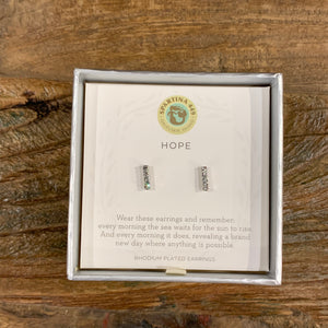 Spartina Sea La Vie Hope Horizon Earrings