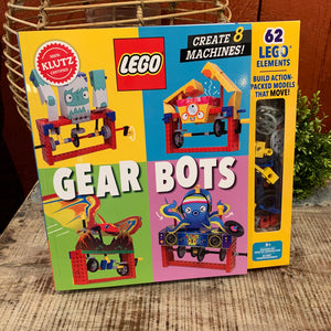 LEGO Gear Bots Kit by Klutz - Apothecary Gift Shop