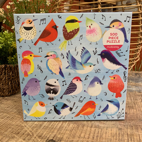 Songbirds Puzzle - Apothecary Gift Shop