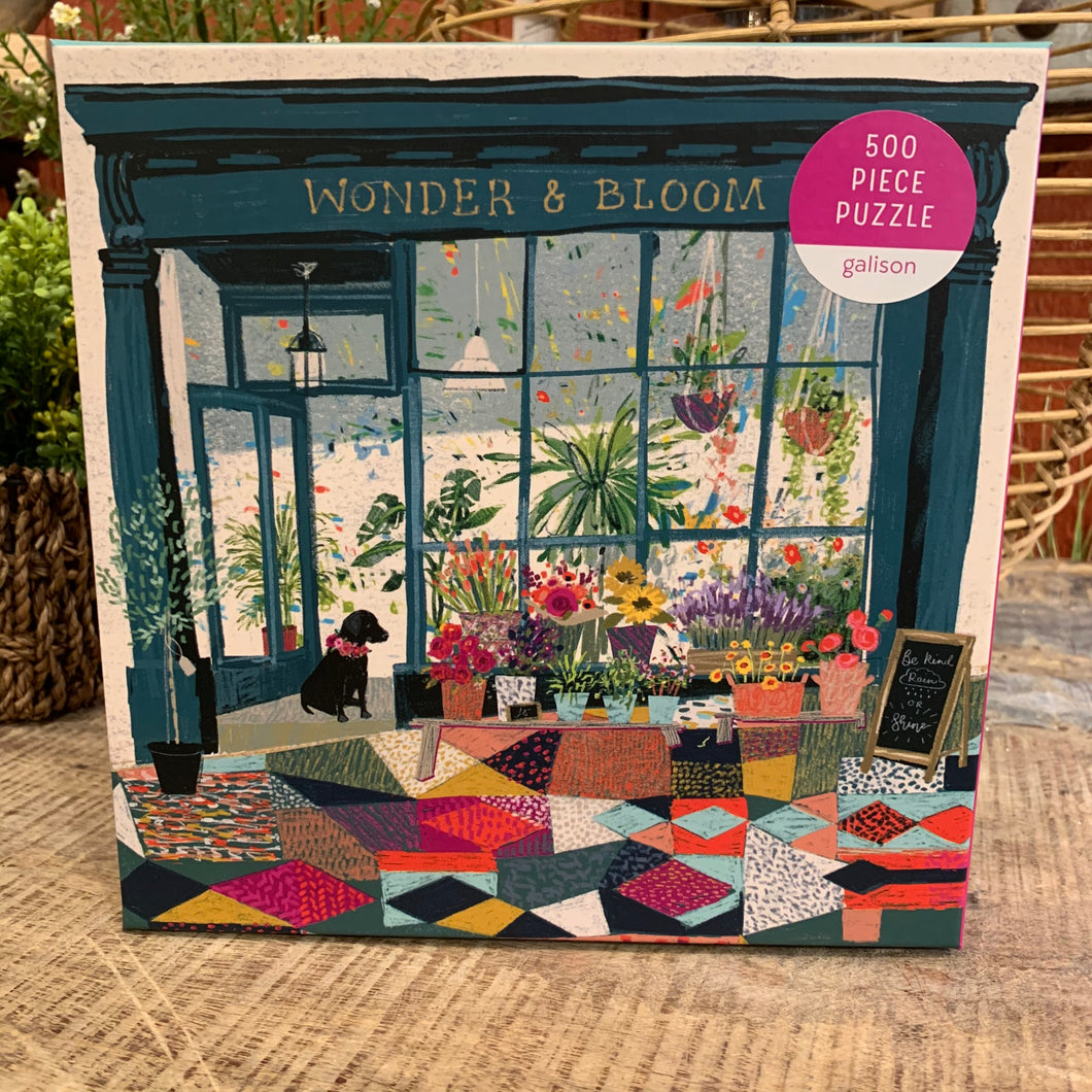 Wonder and Bloom Puzzle - Apothecary Gift Shop
