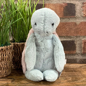 Bashful Turtle Medium Jellycat Stuffed Animal - Apothecary Gift Shop