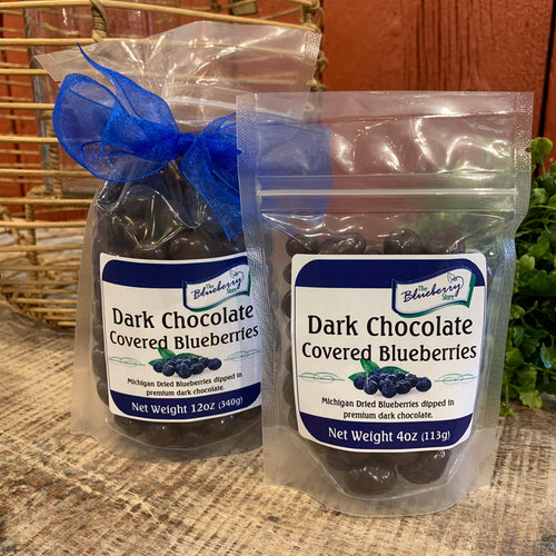 Dark Chocolate Covered Michigan Blueberries - Apothecary Gift Shop