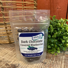 Load image into Gallery viewer, Dark Chocolate Covered Michigan Blueberries - Apothecary Gift Shop