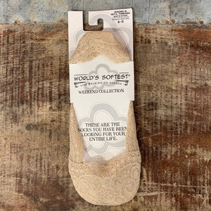 Lacey Footie Socks - Apothecary Gift Shop