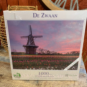 DeZwaan Windmill Puzzle - Apothecary Gift Shop