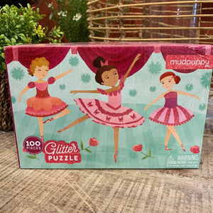 Glitter Ballerina Puzzle - Apothecary Gift Shop