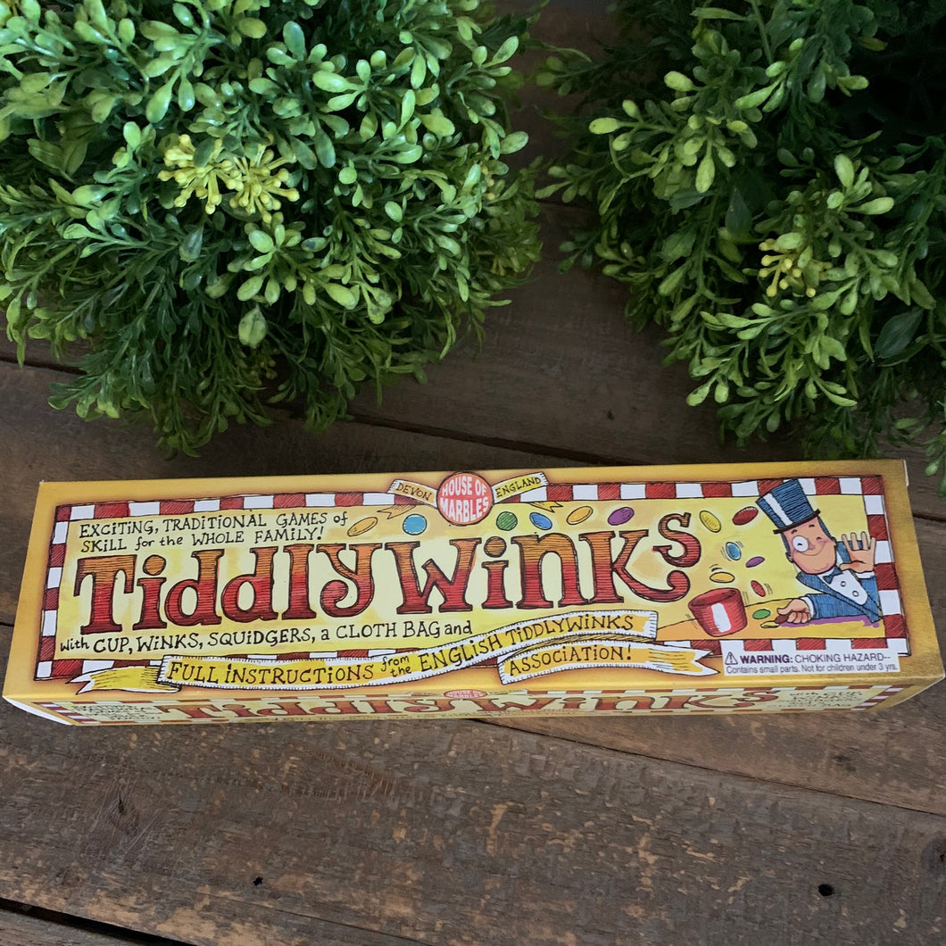 Tiddlywinks Game - Apothecary Gift Shop