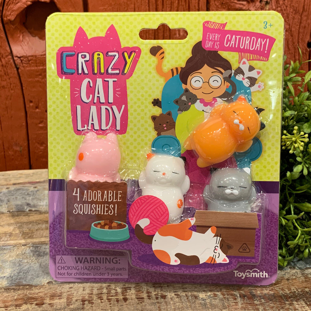Crazy Cat Lady Squishies
