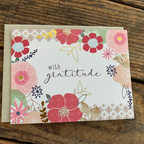 Thank You Card - Apothecary Gift Shop