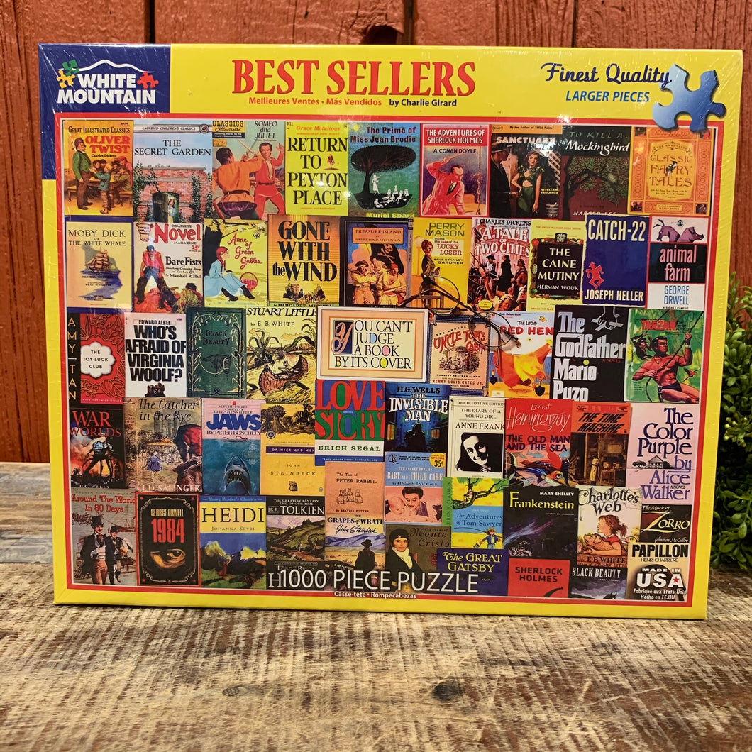 Best Sellers Books Puzzle