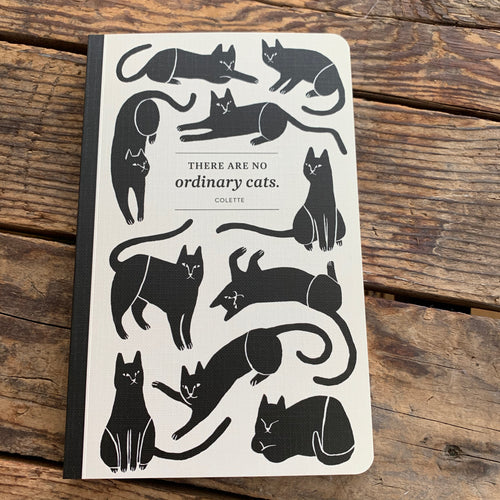 Journal There Are No Ordinary Cats - Apothecary Gift Shop