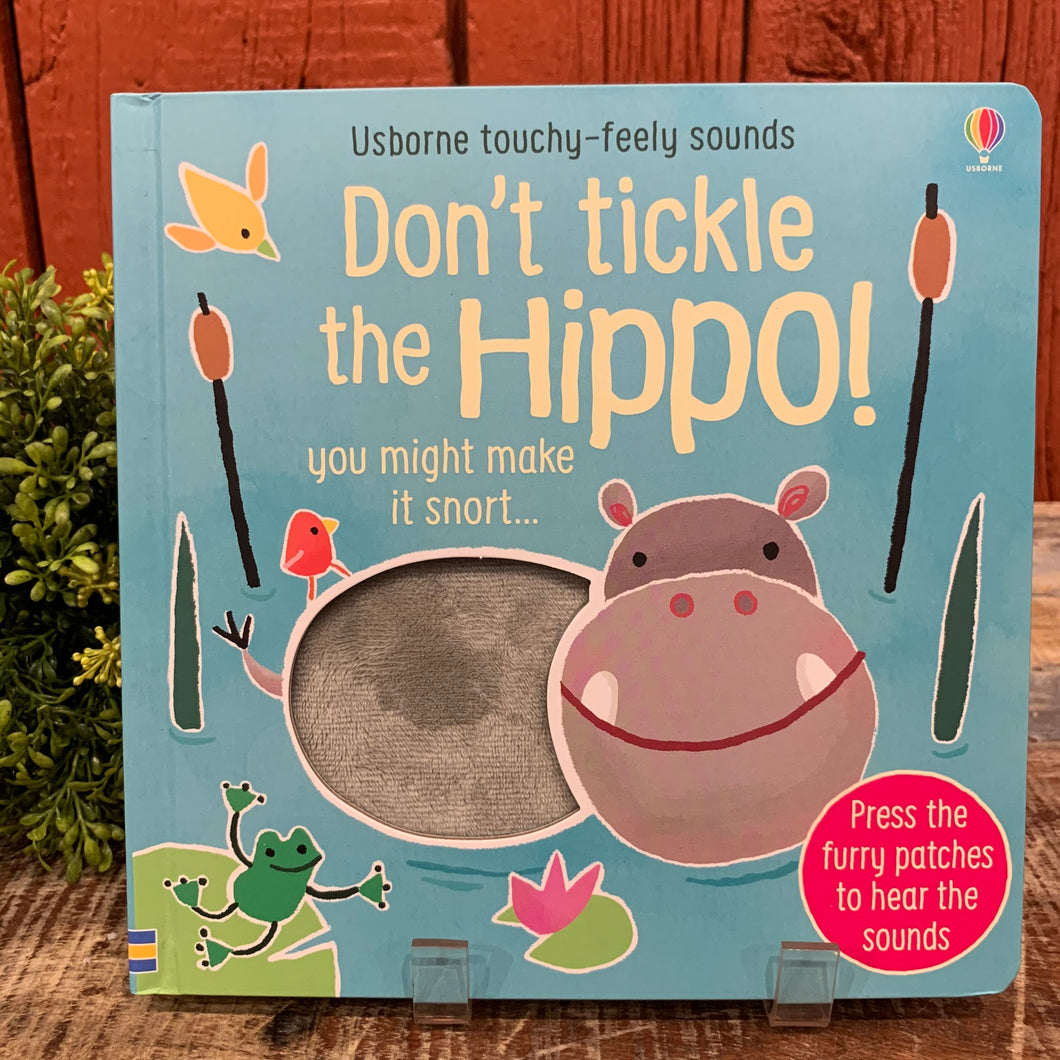 Don't Tickle the Hippo Book