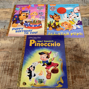 Little Golden Books Paw Patrol & Disney