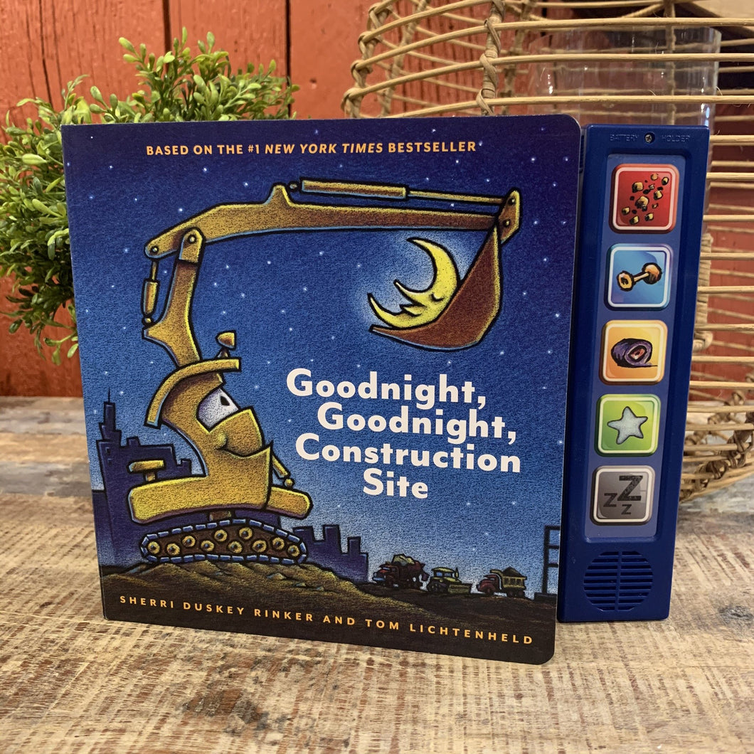 Goodnight, Goodnight, Construction Site Sound Book - Apothecary Gift Shop
