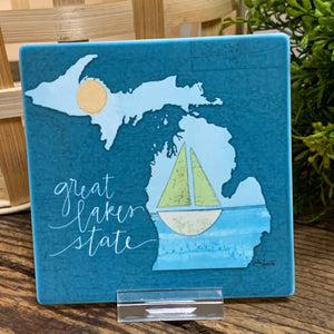 Great Lakes State Coaster