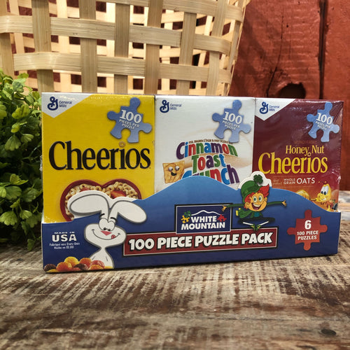 Mini Cereal Boxes Puzzle - Set of 6 - Apothecary Gift Shop