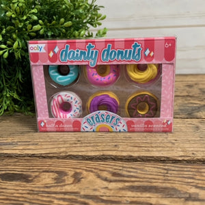 SCENTED ERASERS DONUTS