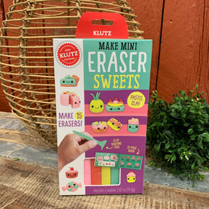 Mini Eraser Sweets Kit by Klutz - Apothecary Gift Shop
