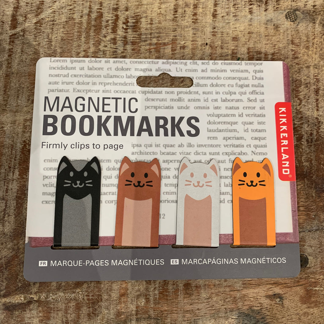 Cat Magnetic Bookmark - Apothecary Gift Shop