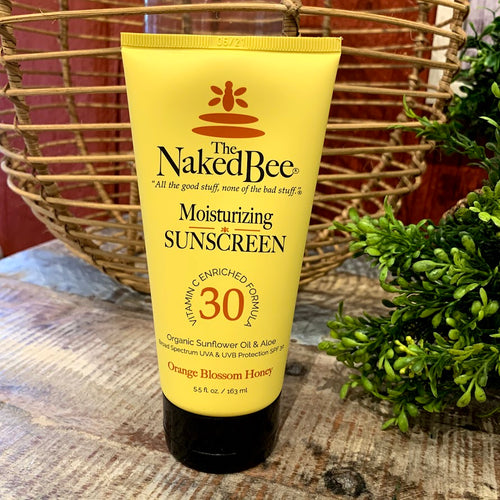 Naked Bee Moisturizing Sunscreen - Apothecary Gift Shop