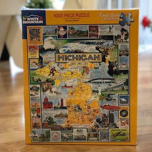 Michigan The Great Lakes State Puzzle - Apothecary Gift Shop