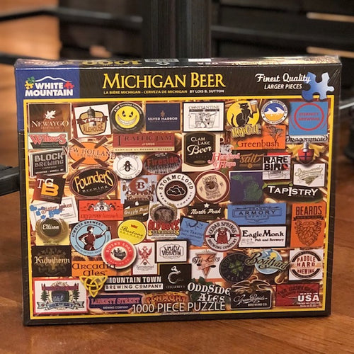 Michigan Beer Puzzle - Apothecary Gift Shop