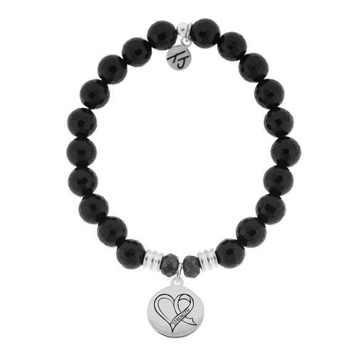 T. Jazelle Strength Heart Bracelet - Apothecary Gift Shop