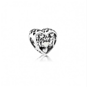 I Love You Mom Pandora Charm - Apothecary Gift Shop