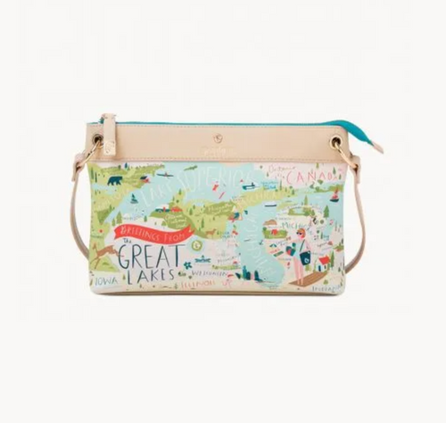 Spartina Great Lakes Crossbody Purse - Apothecary Gift Shop