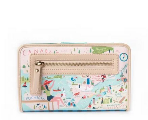 Spartina Great Lakes Snap Wallet - Apothecary Gift Shop
