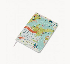 Spartina Great Lakes Notebook - Apothecary Gift Shop