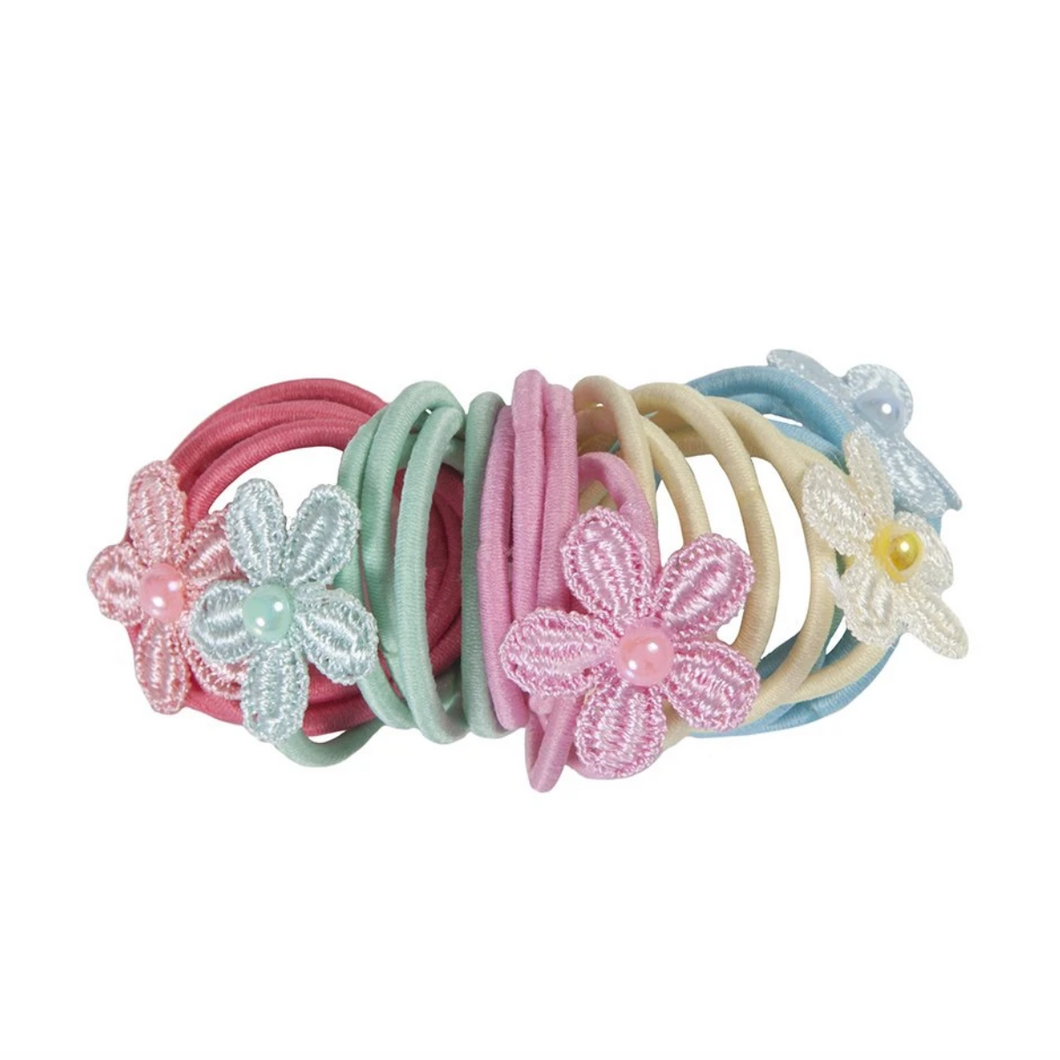Ouchless Flower Elastic Hair Ties - Apothecary Gift Shop
